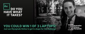 Win one of three laptops